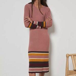 Anthropologie Parvati Midi Dress - Pink Med (NWT)